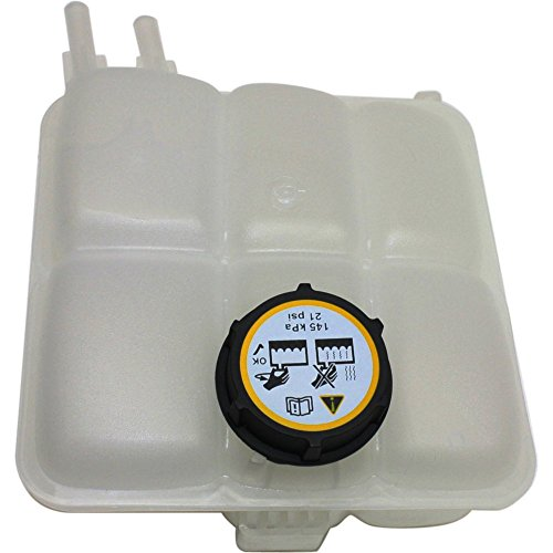 Coolant Reservoir Expansion Tank compatible with Volvo S40 04-11 C30 08-13 W/Cap Plastic ()