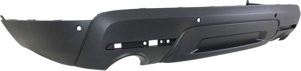 Rear Lower Bumper Cover For 2011-2015 Ford Explorer w// Object Sensor Holes CAPA