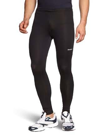 Reebok Tight - Mallas de deporte para hombre, tamaño S, color negro
