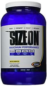 Gaspari Nutrition Sizeon Maximum Performance, Arctic Lemon Ice, 3.59-Pounds