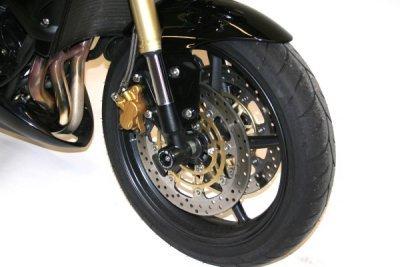 R&G Front Axle Sliders/Protectors for Triumph Daytona 675 '06-'11 & Street Triple/R '08-'14