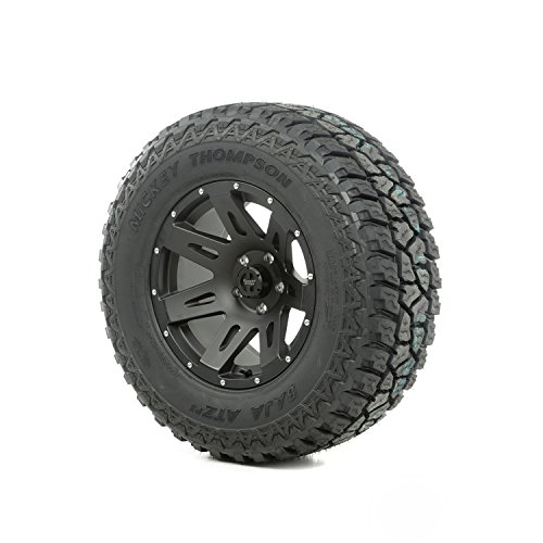 Rugged Ridge 15391.42 XHD Wheel/Tire Package; Incl. 17 in. XHD Wheel; Black Satin; 315/70R17 Mickey Thompson ATZ P3 Tire; (17 Inch Wheels And Tires)