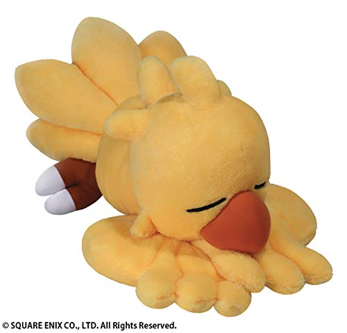 Square Enix Final Fantasy: Snoozing Chocobo Plush, - Chocobo Plush
