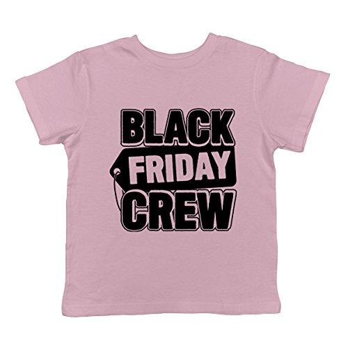 Black Friday Crew Infant T-Shirt, SpiritForged Apparel Light PINK 18 Months