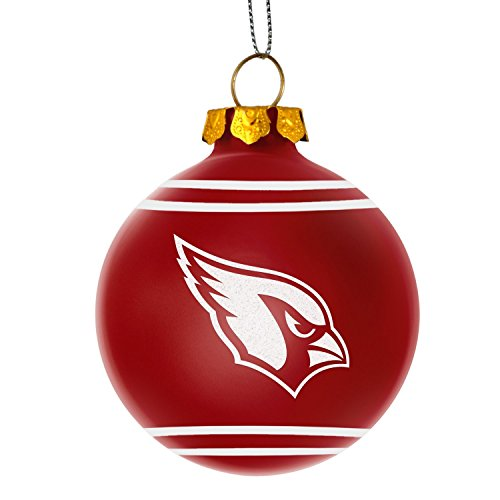 Glitter Logo Glass Ball Ornament