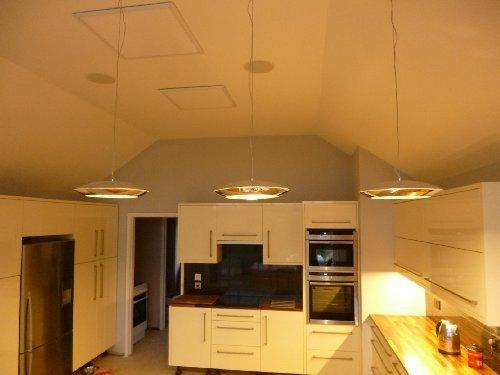 10w led kitchen pendant light 300mm amazon lighting 10w led kitchen pendant light 300mm mozeypictures Choice Image