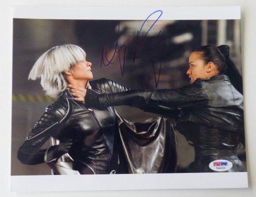 Dania Ramirez Signed X-Men Authentic Autographed 8x10 Photo W/ Halle Berry (PSA/DNA)