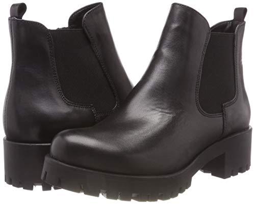 Black Black 21 Chelsea Stivali 3 25435 Tamaris Donna Nero Leather Leather Leather AO5wqUYxS