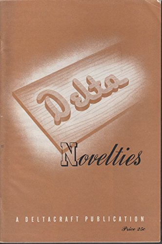 Delta Tools Novelties Woodworking Plans 1940s toys furniture novelties 4144kP054oL