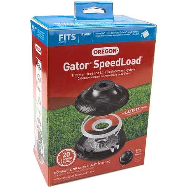 "* Nouveau 3-Pack Oregon 24-295-03 Gator speedload disque .095/"" 2.4 Mm Trimmer Ligne"