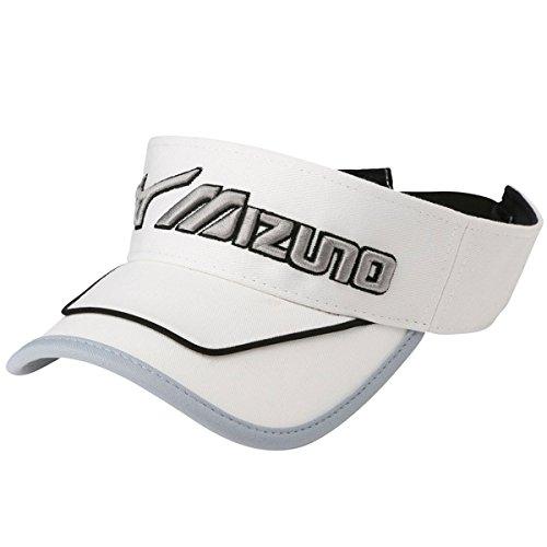 [ミズノ] メンズ ゴルフ MG バイザー BOA ホワイト×グレー 52MW702270