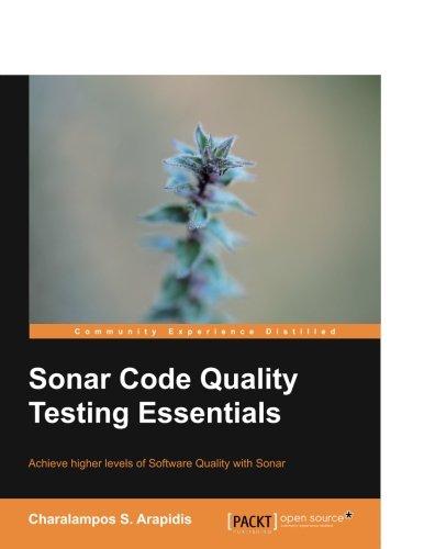 Sonar Code Quality Testing Essentials pdf epub