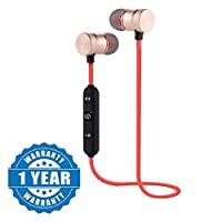 Captcha Wireless Bluetooth Earphone With Magnetic Locking Design (Color May Vary)