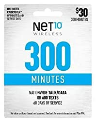 Image of the product Net10 $30 300 Minutes that is listed on the catalogue brand of Net10 Wireless.