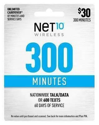 (Net10 $30 300 Minutes Prepaid 60 Days Plan)