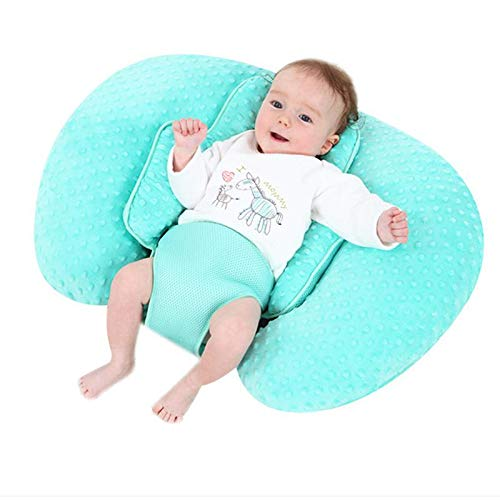 Cuddle Nursing Pillow, Scientific Breastfeeding Free Hands, Prevent Milk Regurgitation & Backache, Comfortable for Both Mother and Baby Nursing Pillow for Newborn 0-12 Months