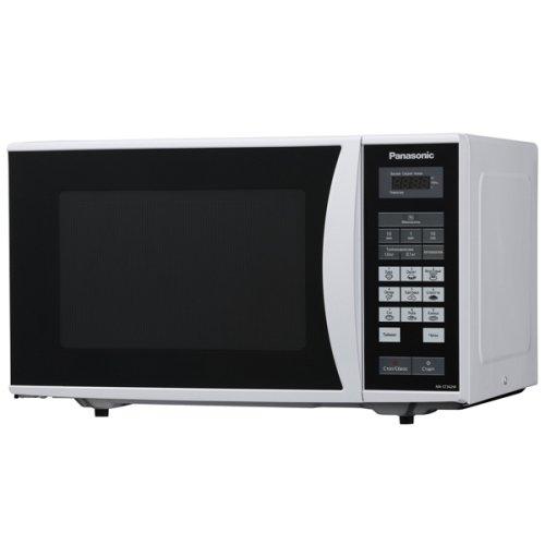 - Panasonic NN-ST34HM 25-Liter Microwave Oven, 220-volt (Non-USA Compliant), Silver