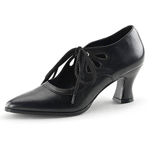 Lacets Mattschwarz Ville Chaussures Femme Noir À heels De Pour Higher XBz4q4