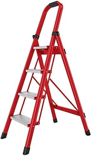 SED Escaleras de tijera multiusos Escalera plegable de 4 peldaños Escalera de aluminio para uso doméstico Ampliación de pedal Escalera mecánica para ingeniería doméstica Bombilla de repuesto Escalera: Amazon.es: Bricolaje y herramientas