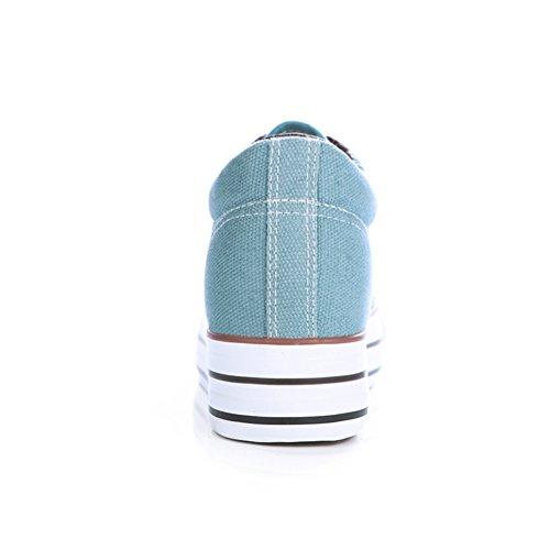 Instituto Zapatos De La Fin Viento De La Baja Plataforma Dentro Del A Zapatos Primavera De Altura Del Zapatos Lienzo Correa Tablero Clásico En Mujer Del 6qWnURR8