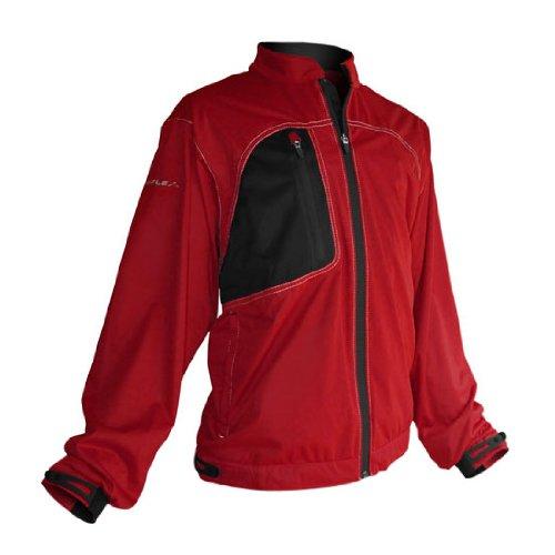 Sun Mountain Men's Rainflex Fz Jacket (Red, Small) ()
