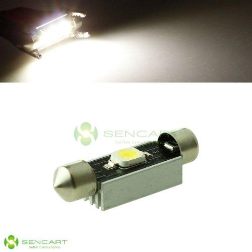 41mm/42mm 211 211-2 De4410 2w 6500k 110lm 7060 SMD LED White Lights Festoon Dome Map Reading Light Bulb for Car (Dc 12~18v)