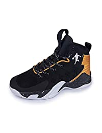 Men's Basketball Shoes Fashion Sneakers for Teen Boys High Upper Sport Shoes Outdoor Indoor Anti Slip