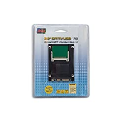 Dual Interface Compact Flash to SATA II or USB 2.0 2.5\