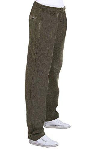 Pour Taille Élastiqué Hommes Jogging Cordon De Charbon Pantalon Bas Carabou 6wqTtg