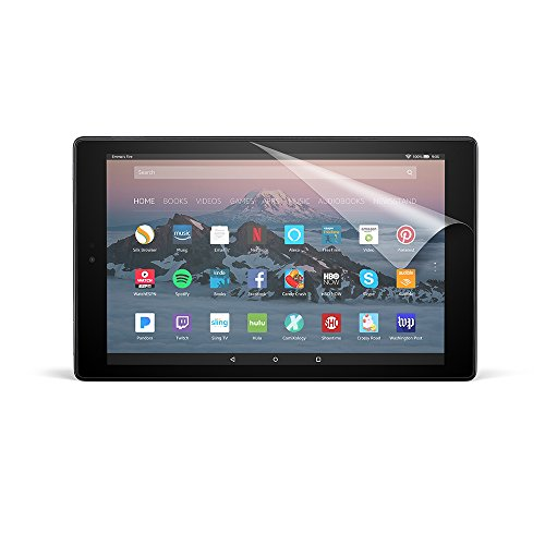 NuPro Screen Protector for Amazon Fire HD 10 Tablet (7th Generation - 2017 release) (2-Pack)