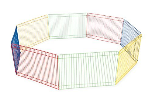 Prevue Pet Products Multi-Color Small Pet Playpen 40090 4144oBCFmYL