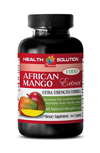 African Mango Extract - African Mango 4:1 Extract 1000 mg - Weight loss herbal supplements (1 Bottle 60 capsules)