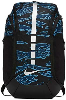 バックパック デイパック Hoops Elite Pro Backpack AOP Blk/Anthracite/(ブラックヘザー) BCKPK バスケットボール