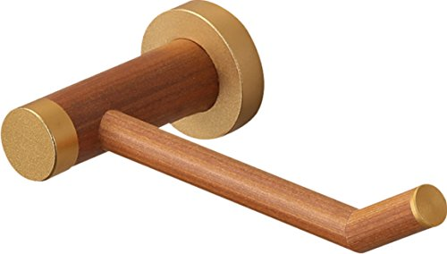 YuanDa Toilet Paper Holder Made of Ecological Wood Tissue Holder with Metal Core Wooden Appearance by YuanDa (Image #7)