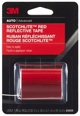 2 Pack 3M Scotchlite Reflective Tape, Red, 2-Inch by 36-Inch Janko Nilovic