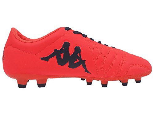 Kappa–Player Base FG Fútbol Fluo–Zapatos moldeados rojo