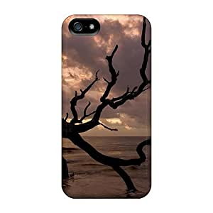 For Iphone 5/5s Fashion Design Tree Shore Case-rnMJPRk187qSCZk