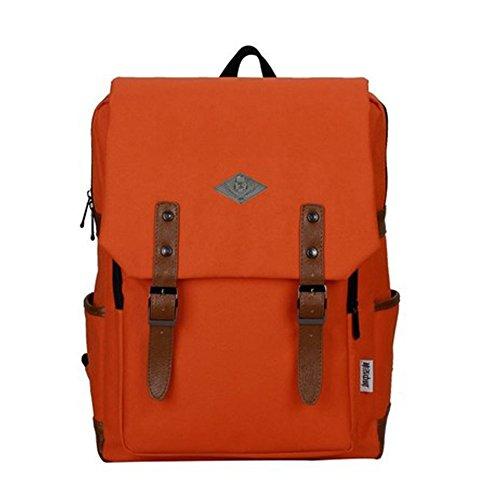 Wicky LS - Bolsa escolar de Poliéster  Unisex adulto naranja