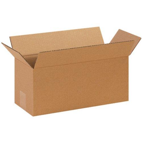 "Aviditi 1466 Long Corrugated Box, 14"" Length x 6"" Width x 6"" Height, Kraft (Bundle of 25) from Aviditi"