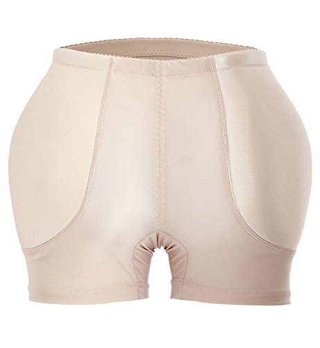 YIANNA Womens Tummy Control Panty Underwear Pads Butt Lifter Shaper Fake Butt
