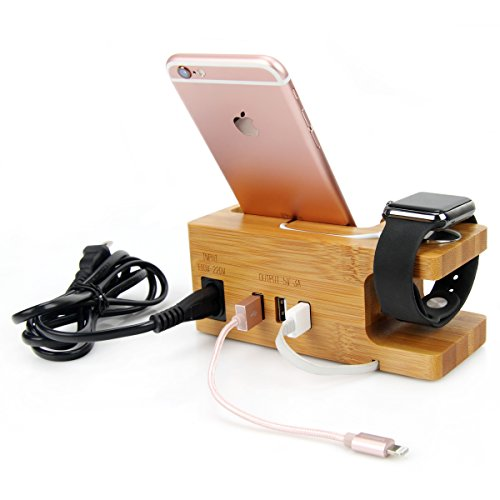 apple-watch-stand-auspa-a02-3-port-usb-bamboo-charging-station-holder-for-iwatch-iphone-smartphone