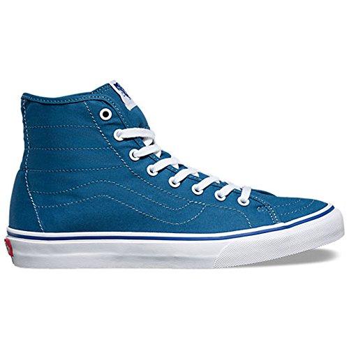 VANS Women's SK8‑Hi Decon Shoe, Navy/True White, 9.5