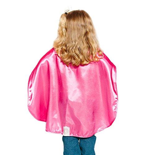 Magenta Polyester Satin Superhero Cape - Kids (Superwoman Halloween Costumes)