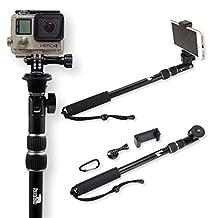 Selfie Stick - Pole - Monopod Selfie Stick - Best Selfie Stick - Selfie Stick for iPhone 6 - for GoPro - Rugged/Waterproof with NO Bluetooth - The Alaska Life©