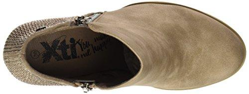 XTI 046567, Botines para Mujer Marrón (Taupe)