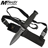 MTECH USA MT-493 Fixed Blade Knife 8.5-Inch Overall, Outdoor Stuffs