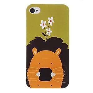 comprar Patrón Lion protector duro caso para iPhone 4/4S