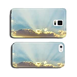 Sunrise Sky With Lighted Clouds cell phone cover case iPhone5