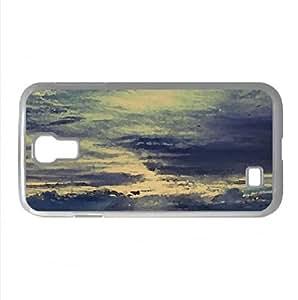 lintao diy Patagonia Landscape Watercolor style Cover Samsung Galaxy S4 I9500 Case