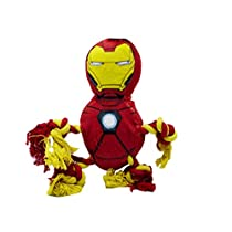 Marvel FFP9924ST Comics Iron Man Rope Knot Buddy for Dogs | Super Hero Toys for All Dogs and Puppies
